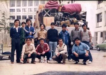 田町の付属一校からの引越し記念撮影